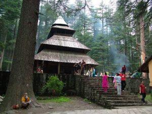Hidimba temple Himachal
